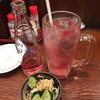 居酒屋 いこい - 料理写真:バイスサワー¥330と、お通し¥250 税別