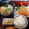 かど家 - 料理写真:仙崎産瀬つきあじフライ定食 2016.4