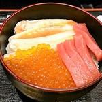 Kaisendonnourashima - いくらかに中とろ丼