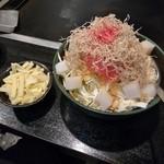 もんじゃ 蔵 - めんたいもちチーズ(1人前)1,350円