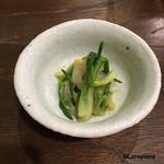 50134283 - 蛤と浅葱の酢味噌和え