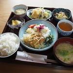 旬菜 桂 - 日替わりランチ(850円)2016年4月