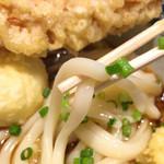 釜たけ流 うめだ製麺所 - 麺アップ