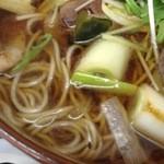 増田屋 - 蕎麦・クローズアップ