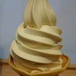 蔵出・焼き芋かいつか - 焼き芋ソフトクリーム  ¥300