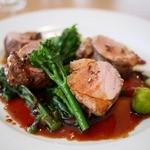 ル・サンティエ - 料理写真:やまと豚ヒレ肉のロースト 1,800円