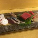 太郎源 - 刺身盛り合わせ・2,000円