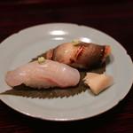 樋口 - あなごと鯛の寿司