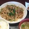 味の八珍亭 - 料理写真:ニラレバ定食