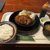 キッチンキッチンカフェ キーチャンズ - 料理写真:牛たんメンチカツ定食@950円