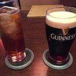 ジョーズ シャンハイ ニューヨーク - まずはビールとソフトドリンクです。