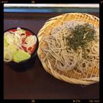明神そば - 料理写真:ざるそば 350円