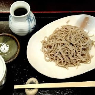 そば屋 五兵衛 - 料理写真:「粗挽き生粉打ち蕎麦」(¥1,050税込)