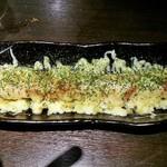 沖ちゃん - サーモンハラス明太チーズ焼き(780円)