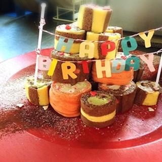 ゲストが喜ぶサプライズケーキ!