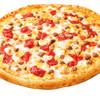 ピザ・ロイヤルハット - 料理写真:水牛のモッツァレラとイタリアンソーセージ  SS\650 S\1,240 M\2,120 L\3,760