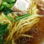 尚チャンラーメン - スープと麺