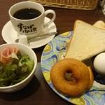 すなば珈琲 - モーニングセット(トーストセット)