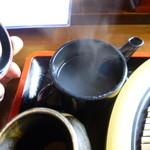 滝野庵 - 蕎麦湯
