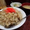 おでん 七福食堂 - 料理写真:チャーハン中盛り