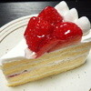 シェ・カワモト - 料理写真:いちごのショートケーキ(399円)