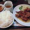 kei楽 - 料理写真:ぷりぷり鶏焼(タレ)定食