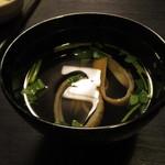 銀座大和田 - 肝吸い