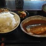 50223700 - 鯖味噌、ご飯進みます。