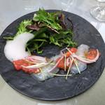コードクルック - 桜鯛のカルパッチョ