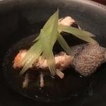 千翠 - 石鯛のあらだき、蕗