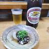 安兵衛 - 料理写真:お通しと瓶ビール
