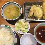 天ぷらの山 - 料理写真:山定食