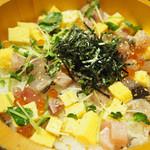主水 - 海鮮がいな丼(大盛り)