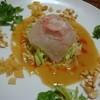 中国四川料理秀峰 - 料理写真:中華風鯛のお刺身