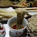 石づか - 201604 かえしは東京の蕎麦屋と比べると塩気が穏やかでバランス良い味わい