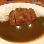 ガーネッシュ - 熟成三元豚ロースかつカレー(800円)