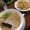 魁龍 - 料理写真:ラーメン+焼き飯^^