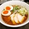 ラーメン 赤青 ムラサキ - 料理写真:特製鶏醤らぁ麺!