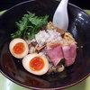 紫 くろ喜 - 料理写真:【4/28まで】鴨和えそば(1000円)