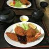 ひょうたんや - 料理写真:エビカキ定食屋 ご飯大盛り 1400円