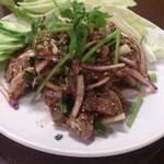 ひまわり - ・涼拌牛肉 1000円 (税別)