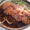 弥生軒 - 料理写真:唐揚げそば(400円)