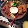 熊本さくら - 料理写真:Wチキン定食(900円)