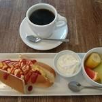 さくらCafe - ブレンド380円、日替わりモーニング