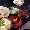 天輪屋 - 料理写真:筍ごはん定食
