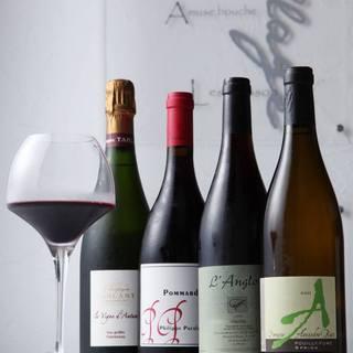 現代フレンチと、フランス各地の自然派ワイン