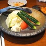 焼肉 大貫 - 生野菜サラダ