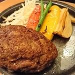 泰元食堂 - ハンバーグ定食(830円)