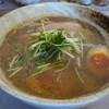 春木屋 - 料理写真:新中華そば(しょうゆ味)+煮玉子(カット)
