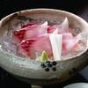 うかい鳥山 - 料理写真:佐久鯉の洗い